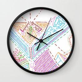 PowerLines 21 Wall Clock
