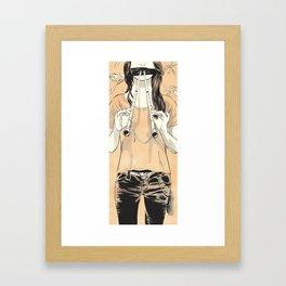 Aulos Framed Art Print