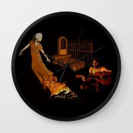 Dia de los Muertos: Private Seance Wall Clock