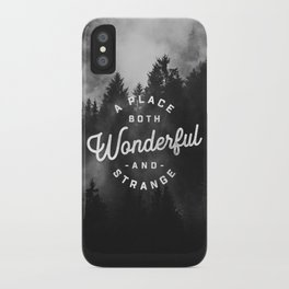 A Place Both Wonderful and Strange iPhone Case