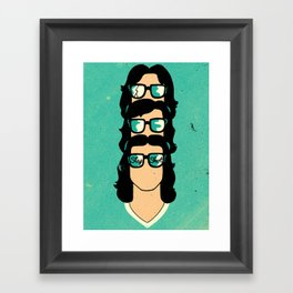 Slap Shot Framed Art Print