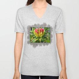 Gloriosa Rothschelidiana Unisex V-Neck