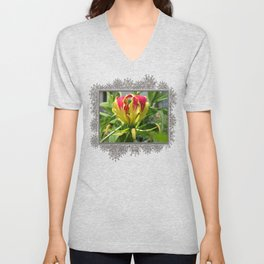 Gloriosa Rothschelidiana Unisex V-Neck