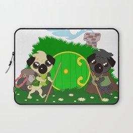 Pug Buddies. Puggits. Pugs on an Adventure Laptop Sleeve