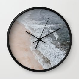 seashore iv / portugal Wall Clock