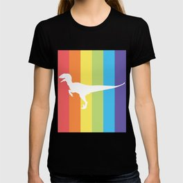RAINBOW RAPTOR - No one needs to know T-shirt