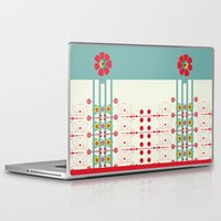 spanish Laptop & iPad Skins featuring Spanish Guitar by Karim Luengo