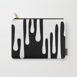 WHITE DRIPPING Carry-All Pouch