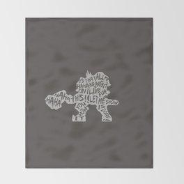 Reinhardt Type illust Throw Blanket