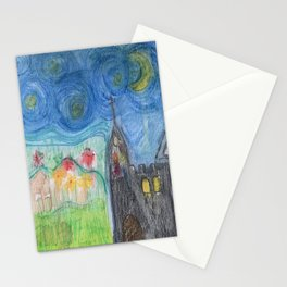 Dusk in the Country Stationery Cards