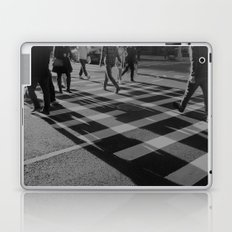 Crosswalk Shadows - Solarized Laptop & iPad Skin