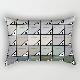 50 Shades Of Grey : Pantone Swatches Rectangular Pillow