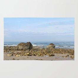 Rocky New England Coast Rug