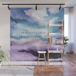 Stillness [Collaboration with Jacqueline Maldonado] Wall Mural