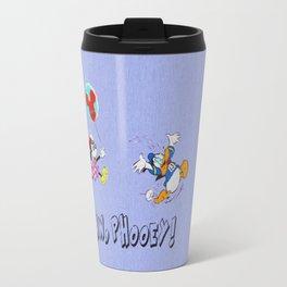 Minnie, The Balloon Lady! runDisney Travel Mug