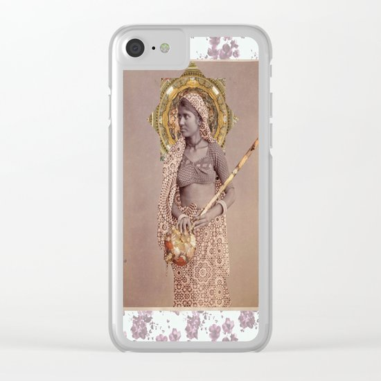 Woman from Bengal Clear iPhone Case