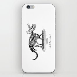 Figure Two: Triceratops iPhone Skin