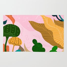 Tropical Composition Rug
