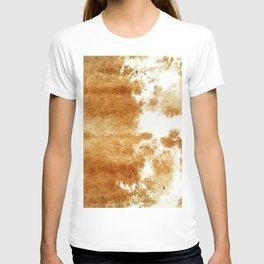 Golden Brown Cow Hide T-shirt