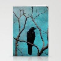 aqua Stationery Cards featuring Aqua by The Strange Days Of Gothicrow