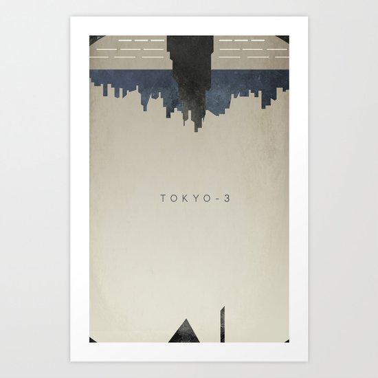 Tokyo 3 Art Print