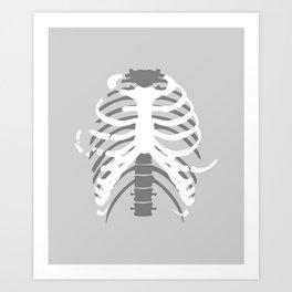 Your Body On Skate Art Print