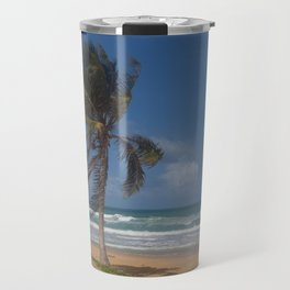 Karon Beach palm tree Travel Mug