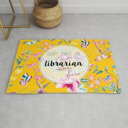 Librarian Glare Rug