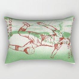 Soccer king Rectangular Pillow