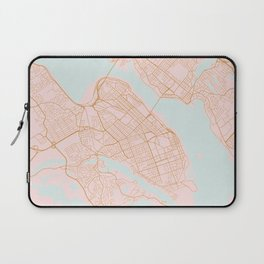 Halifax map, Canada Laptop Sleeve