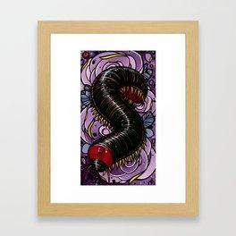 Ceres Centipede  Framed Art Print