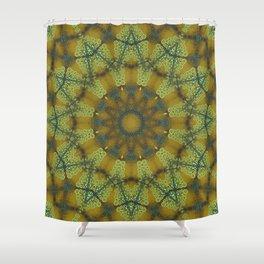 Jewelled Sunflower Splendor Shower Curtain
