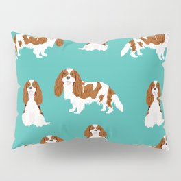 Cavalier King Charles Spaniel blenheim coat dog breed spaniels pet lover gifts Pillow Sham