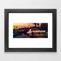 Silverlake Vista Framed Art Print
