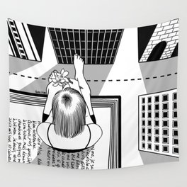 The End of the Story Wall Tapestry