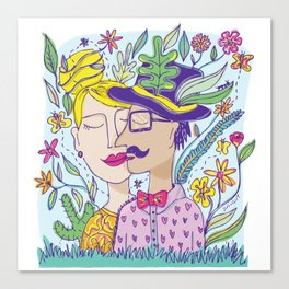 Spring Love Canvas Print