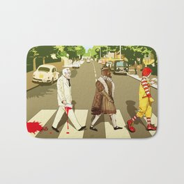 The Crusade of Abbey Road Bath Mat