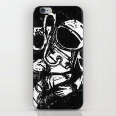 Space Man iPhone Skin