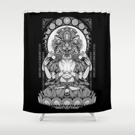Sacred Ascetic Shower Curtain