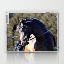 hay bale horse Laptop & iPad Skin