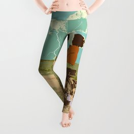 STORM CHASERS Leggings