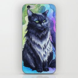 The Shadow Cat iPhone Skin