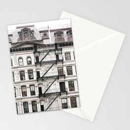 Tribeca Fire Escapes - New York Architecture Photography Stationery Cards