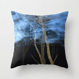 Speedy Trees 2 Throw Pillow