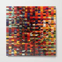 Colorful Collage Metal Print