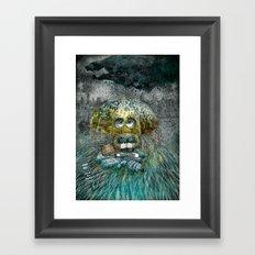 Rain All Day Framed Art Print
