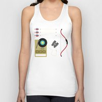 moonrise Tank Tops featuring Moonrise by Brittany Metz