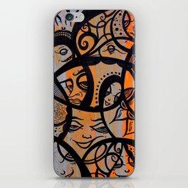Tucked Away iPhone Skin