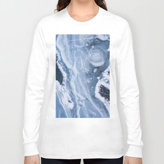Earth blue Long Sleeve T-shirt