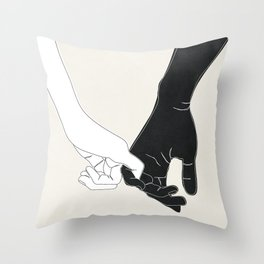 Pinky Promise II Throw Pillow